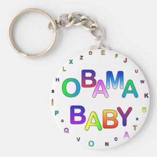 Obama for President, Baby! Keychain