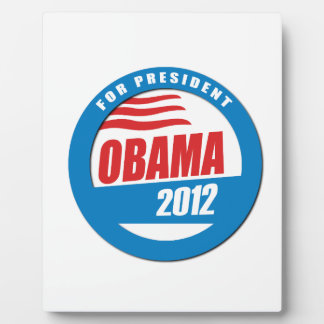 OBAMA FOR PRESIDENT BUTTON -.png Display Plaque
