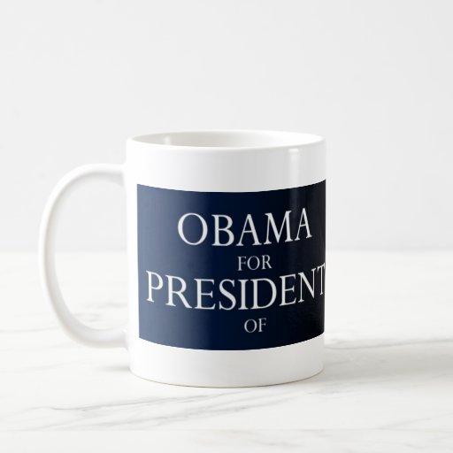 Obama For President of Kenya Mug
