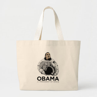 Obama for President of Space Tote Bags