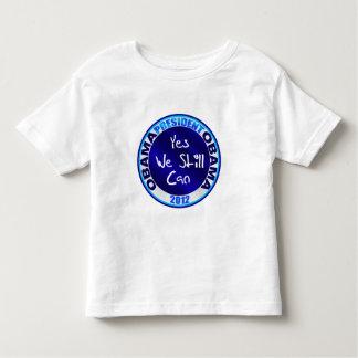 Obama for President Yes We Still Can Obama 2012 Toddler T-shirt