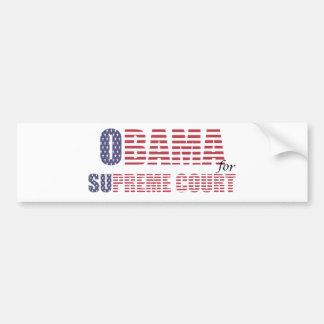 Obama for Supreme Court Bumper Sticker