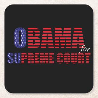 Obama for Supreme Court Plastic Coaster