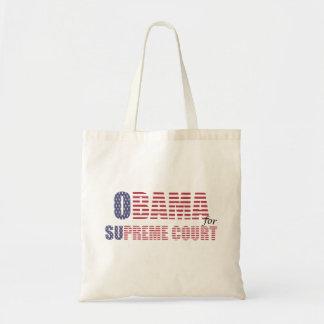 Obama for Supreme Court Tote Bag