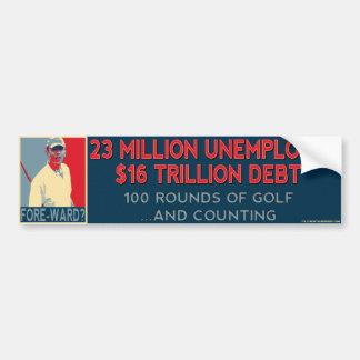 Obama Fore-ward Bumper Sticker Car Bumper Sticker