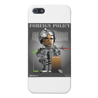 Obama Foreign Policy iPhone SE/5/5s Cover