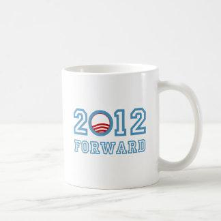 Obama forward 2012 classic white coffee mug