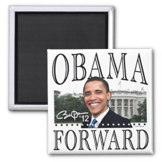 Obama Forward 2012 Magnet