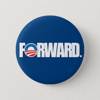 Obama - FORWARD 2012 Pinback Button