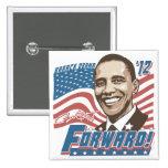 Obama Forward 2012 Pins
