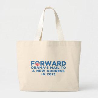 Obama Forward Large Tote Bag