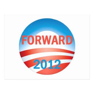 Obama FORWARD Postcard