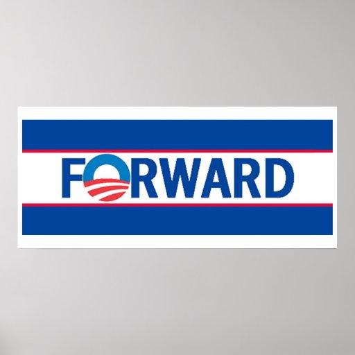 Obama FORWARD Print