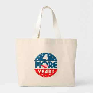 obama_four_4_more_years canvas bag