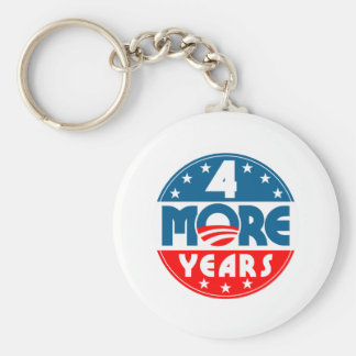 obama_four_4_more_years keychain