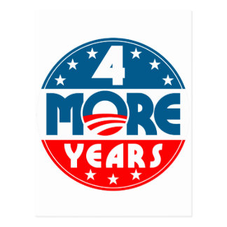 obama_four_4_more_years postcard