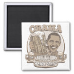 Obama Four More Beers Magnet