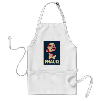 Obama Fraud Adult Apron
