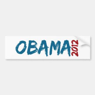 Obama fresco 2012 etiqueta de parachoque