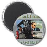 Obama fresco como ése iman