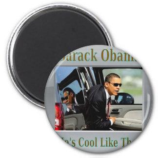 Obama fresco como ése imán redondo 5 cm