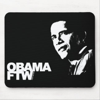 Obama FTW - For The Win Mouse Pad