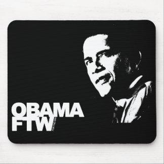 Obama FTW - Para el cojín de ratón del triunfo Alfombrilla De Ratones