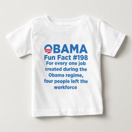 Obama Fun Facts Baby T-Shirt