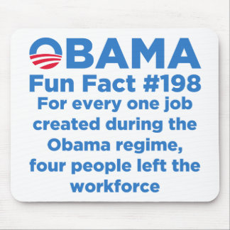 Obama Fun Facts Mouse Pad