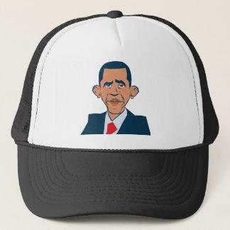 Obama - funny portrait trucker hat