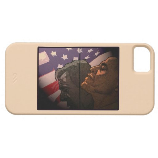 Obama Future, Bush Past iPhone 5 Cover