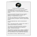 Obama gaffes - a sampling greeting card