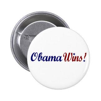 Obama gana 2008 pin