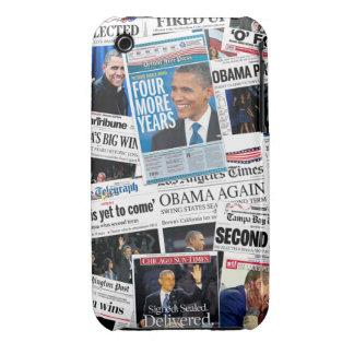 Obama gana el caso 2012 del iPhone 3 Case-Mate iPhone 3 Cárcasa
