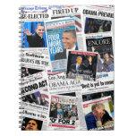 Obama gana el cuaderno 2012 de la reelección