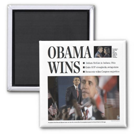 Obama gana el imán