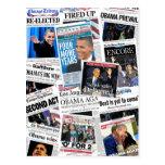 Obama gana la postal 2012 del collage del periódic