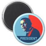 Obama gana las camisetas del premio de la paz imán para frigorifico