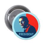 Obama gana las camisetas del premio de la paz pins