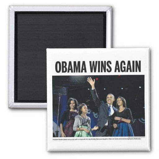 Obama gana otra vez iman