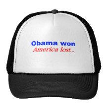 Obama ganó… gorro de camionero