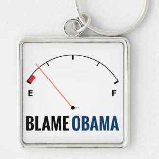 Obama Gas Prices Keychain