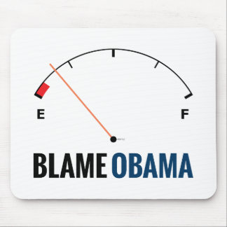 Obama Gas Prices Mouse Pad