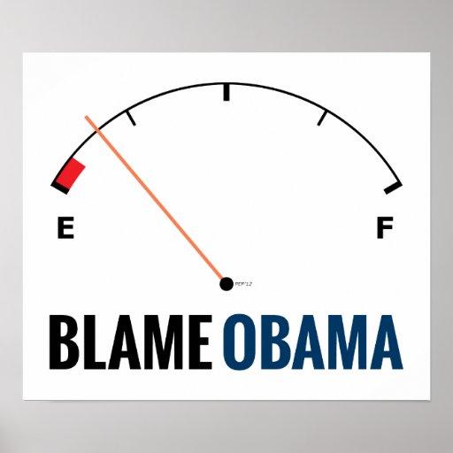 Obama Gas Prices Print