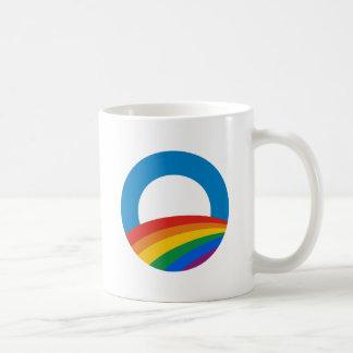Obama Gay Pride Classic White Coffee Mug