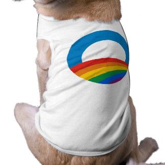 Obama Gay Pride Pet Shirt