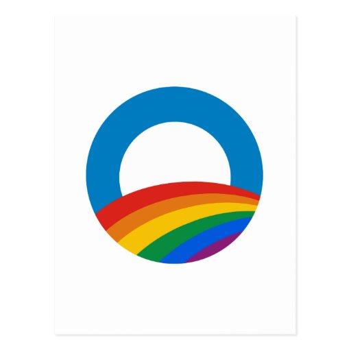 Obama Gay Pride Post Cards