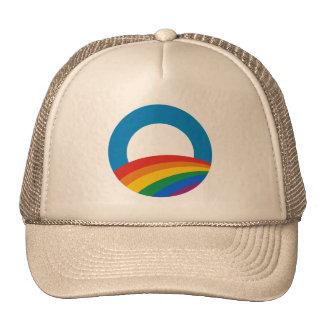 Obama Gay Pride Trucker Hat