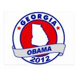 Obama - Georgia Tarjetas Postales