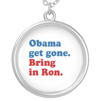 Obama get gone. Bring in Ro Round Pendant Necklace